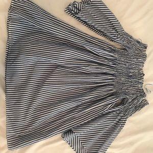 ZARA Women's Striped Dress